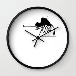 Chameleon 2 Wall Clock