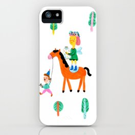 Colorful Cheerful Forest iPhone Case