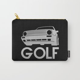 Volkswagen Golf - silver - Carry-All Pouch