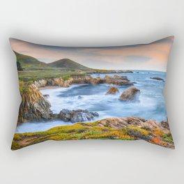 Garrapata Beach Sunrise, Big Sur Rectangular Pillow