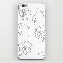 Rose Bush iPhone Skin