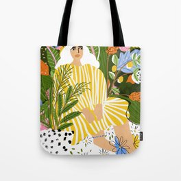 The Jungle Lady Tote Bag