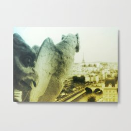 Haute Vue Paris / Gargoyles Metal Print
