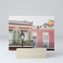 New Orleans Golden Hour in the Quarter Mini Art Print