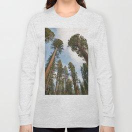 Redwood Sky - Giant Sequoia Trees Long Sleeve T-shirt