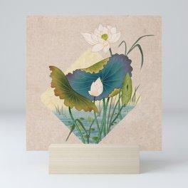 lotursflowers C : Minhwa-Korean traditional/folk art Mini Art Print