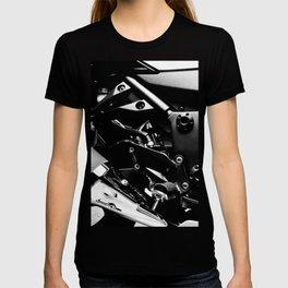 Kawasaki Ninja Motorcycle Wall Art V T-shirt