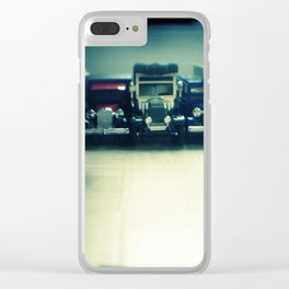 Beep beep - toy cars Clear iPhone Case