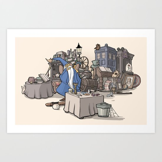 Collection of Curiosities Art Print
