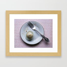 Apple Cider Cake Truffles: Take One Framed Art Print