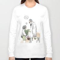kim sy ok Long Sleeve T-shirts featuring OK?! by doFirlefanz