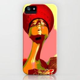 Kuhl's Kit Kat Klub: The Zulu Hat Knocked 'em Dead iPhone Case