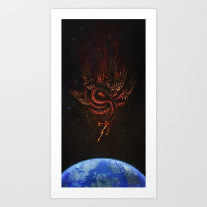 The Conqueror Wyrm Art Print