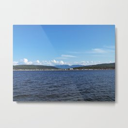 Mount Albert from the Sea Metal Print
