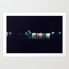 Sweet Dreams Motel Art Print