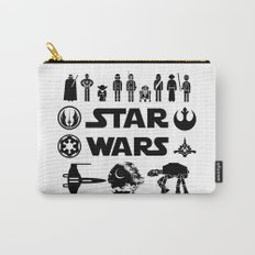 Star Characters Wars Carry-All Pouch