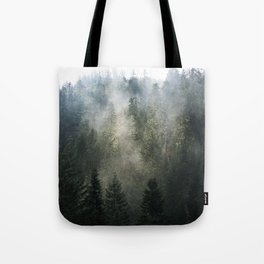 Willamette National Forest Mists Tote Bag