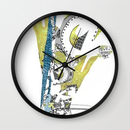 CutOuts - 5 Wall Clock