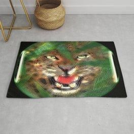 Big Cat Models: Mystic Leopards 01-03 Rug