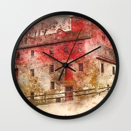 the olde mill Wall Clock