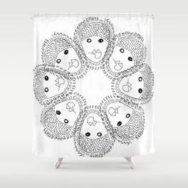 8-10  Shower Curtain