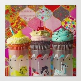 Cirque du Cupcake III Canvas Print