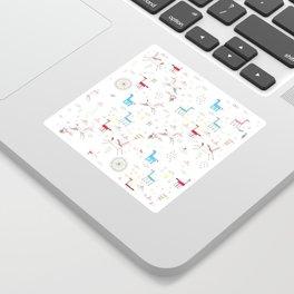 Merry-go-round Sticker