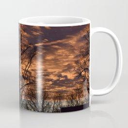 Sky on Fire in Tennessee Coffee Mug