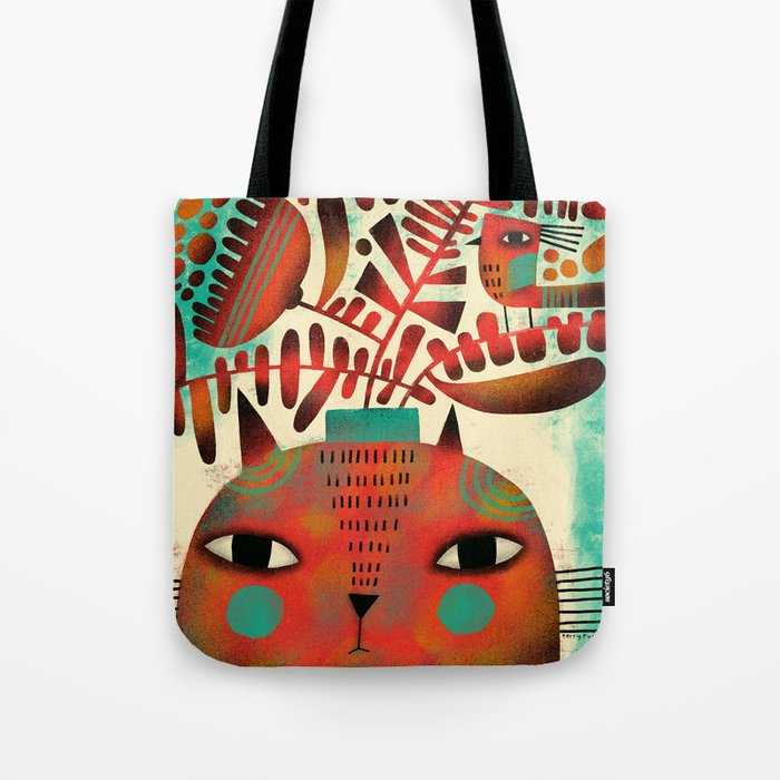 SPROUTING HEAD Tote Bag