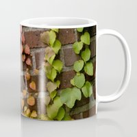 climbing Mugs featuring Climbing by C. Wie Design