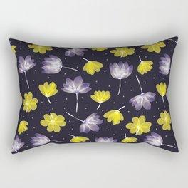 pressed flower Rectangular Pillow