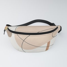 Abstract Line Movement III Fanny Pack