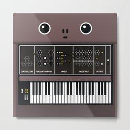 synthesizer Metal Print
