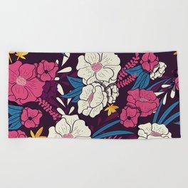 Jungle Pattern 007 Beach Towel