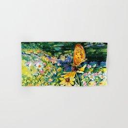 The Meadow by Kathy Morton Stanion Hand & Bath Towel