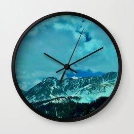 Sleeping Indian Wall Clock