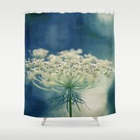 lace Shower Curtains featuring Lace by Sandra Arduini