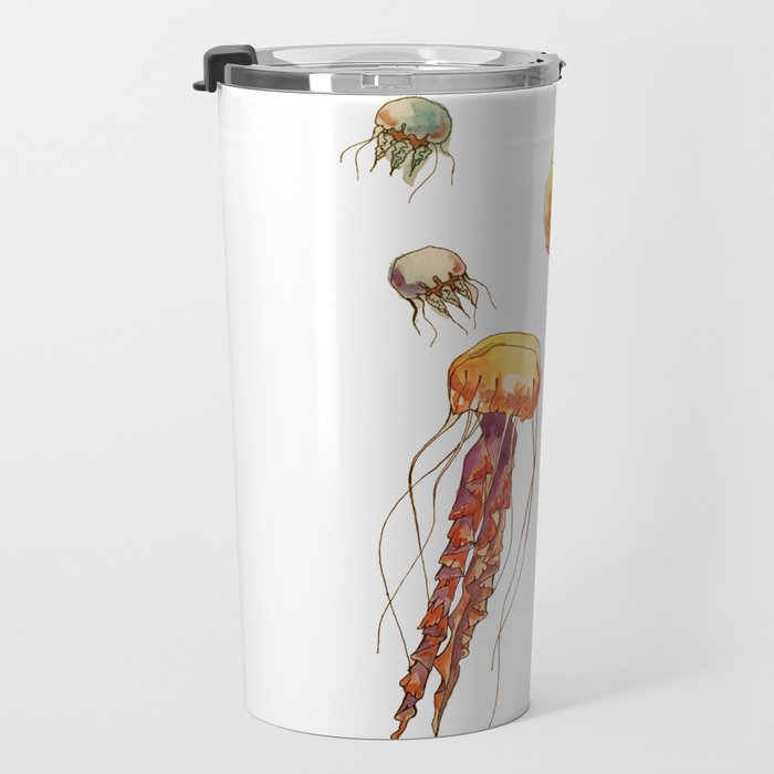 world of jellyfish Travel Mug