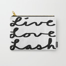 Live Love Lash Carry-All Pouch