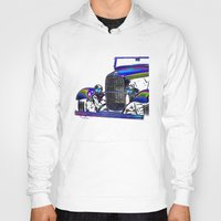 ford Hoodies featuring Ford Abstract by Beach Bum Pics