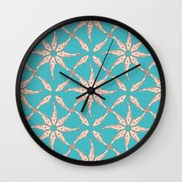 Cute Koi Fish Pattern Wall Clock