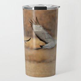 Sandhill Cranes Travel Mug