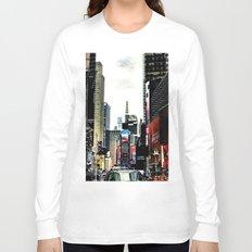 Downtown New York City Long Sleeve T-shirt