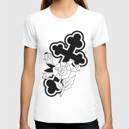 Rose and Cross T-shirt