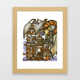Bioshock Tea Framed Art Print