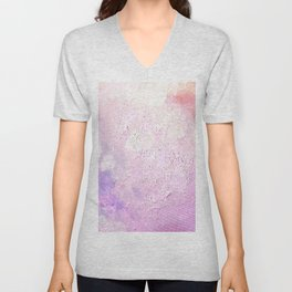 Abstract Pastels Unisex V-Neck