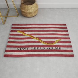 First Navy Jack flag of the USA, vintage Rug