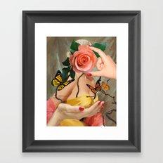 CRACKLIN' ROSIE Framed Art Print