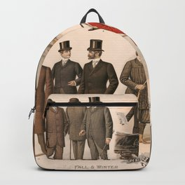 Men's fashion fall and winter 1895 Backpack