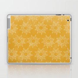 Sun pattern Laptop & iPad Skin